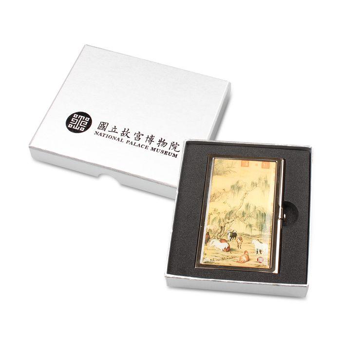 故宮精品|故宮名片禮盒-八駿圖