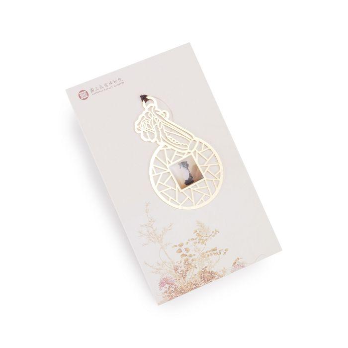(複製)故宮精品|典藏鏤空書籤─蓮花溫碗