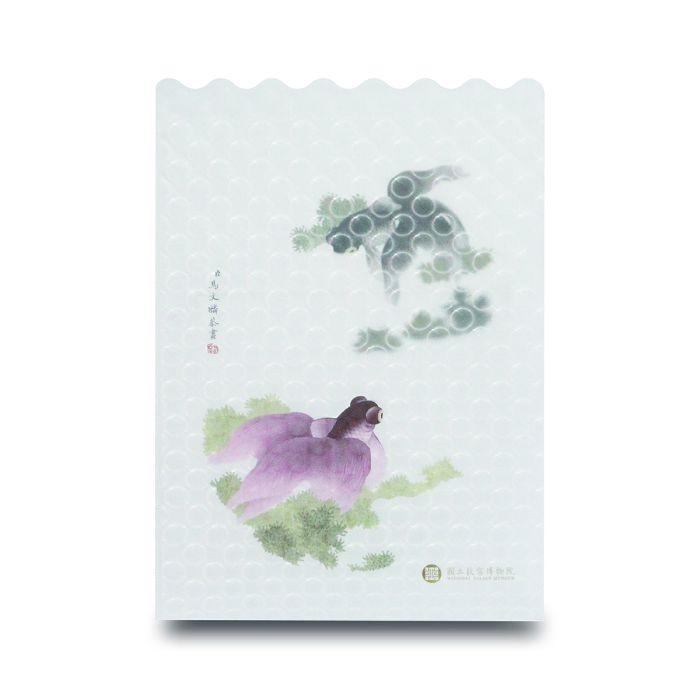 (複製)故宮精品|點飾成睛-L夾-翠玉白菜