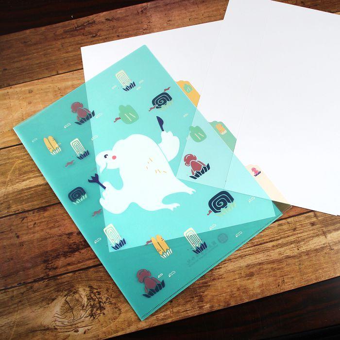 (複製)故宮精品|丹楓呦鹿三層文件夾
