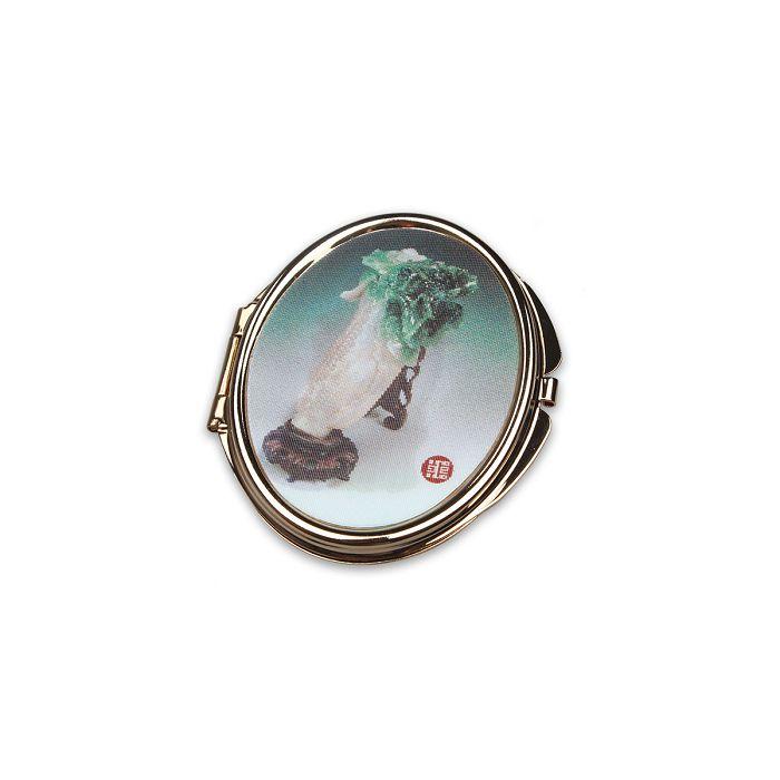 (複製)故宮精品|3D橢圓雙面鏡 百蝶瓶