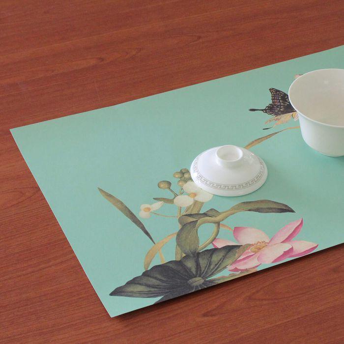 (複製)故宮精品|青花蓮紙餐墊(10入)