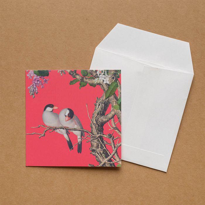 (複製)故宮精品|郎世寧系列·孔雀開屏 萬用卡