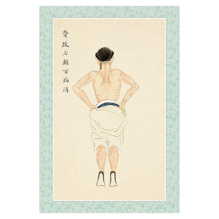 (複製)故宮精品|八段錦·搖頭擺尾去心火 明信片