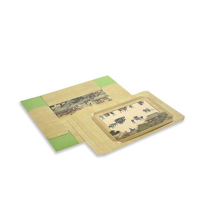 (複製)故宮精品|十二月月令圖·一月 萬用手札