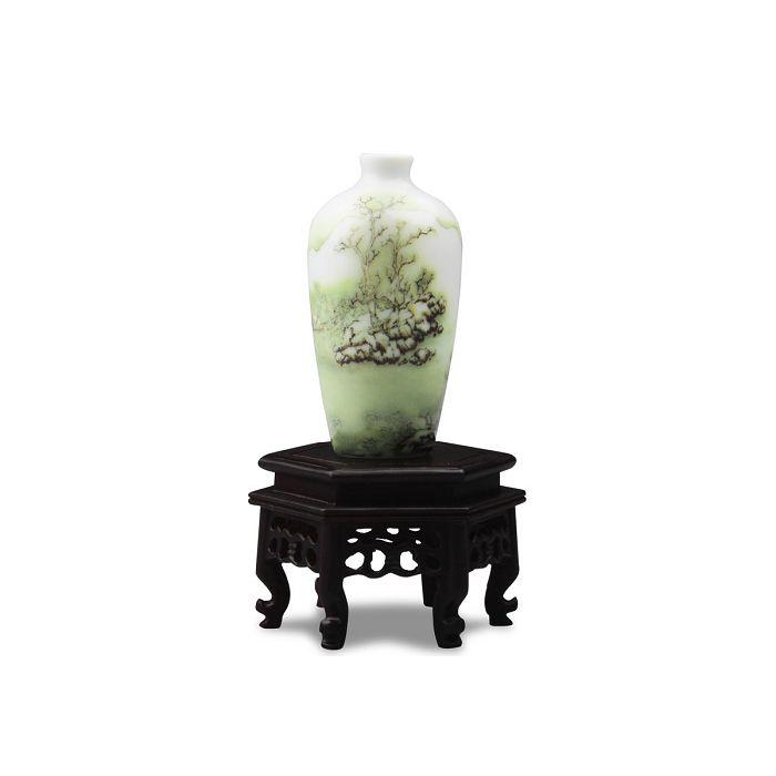 (複製)故宮精品 迷你瓷器 - 雙陸瓶
