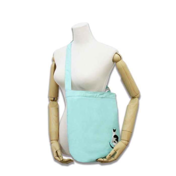 (複製)故宮精品|耄耋同春菊葵肩包-水藍