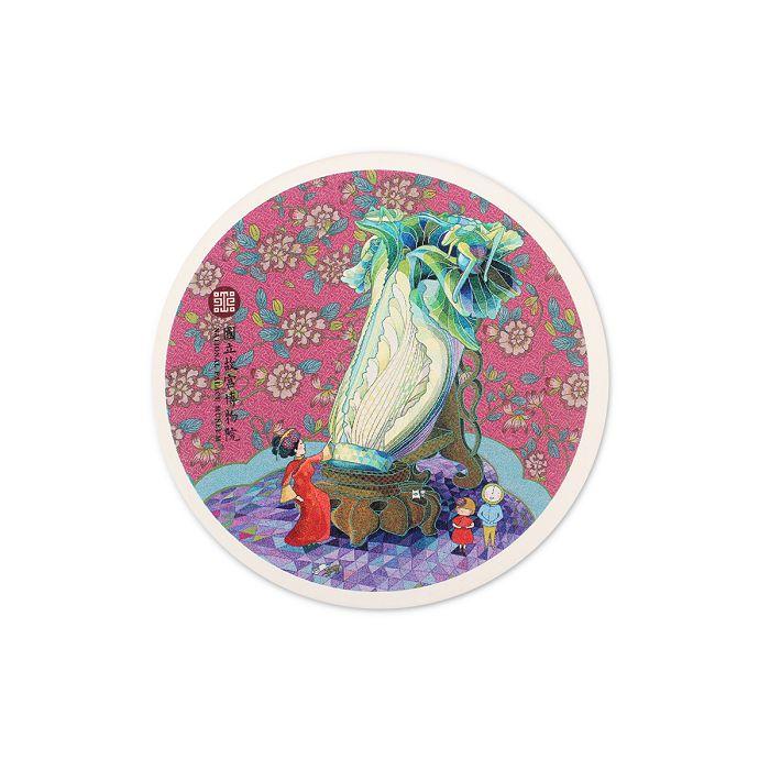 (複製)故宮精品 耄耋同春菊葵肩包-黑