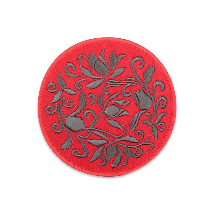 (複製)故宮精品|蓮瓣劃花盤杯墊-桃