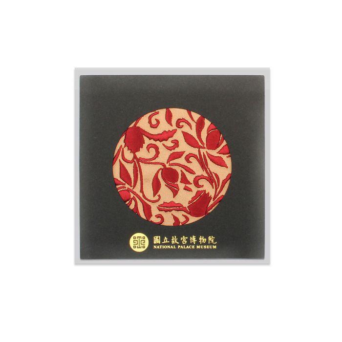 (複製)故宮精品|蓮瓣劃花盤杯墊-金