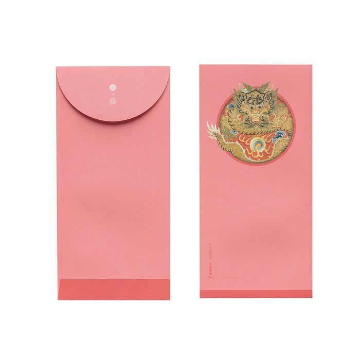 (複製)故宮精品|錦繡祥瑞·清國書金龍 萬用袋(單色6入)