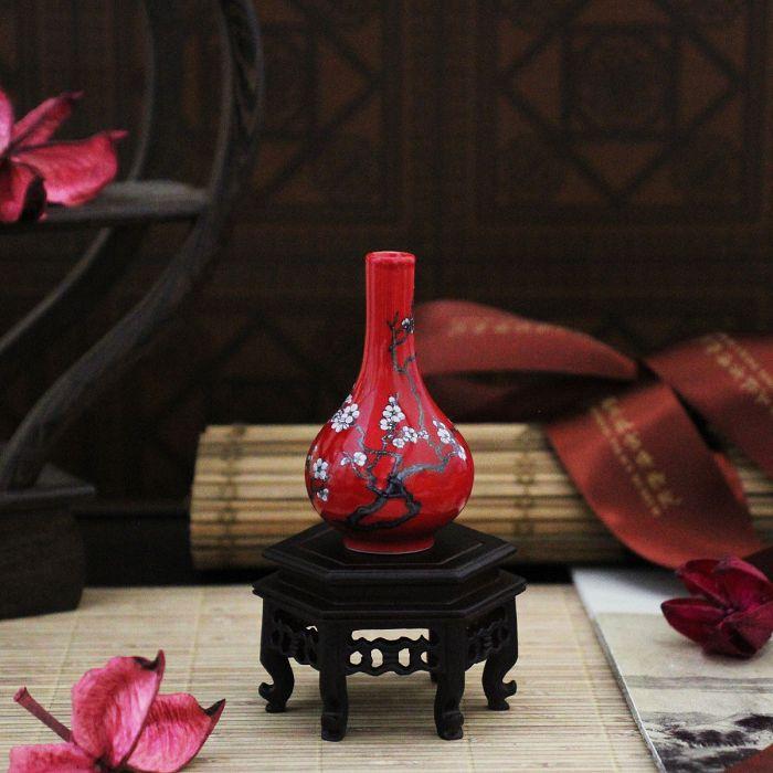 故宮精品|迷你瓷器 - 梅花膽瓶