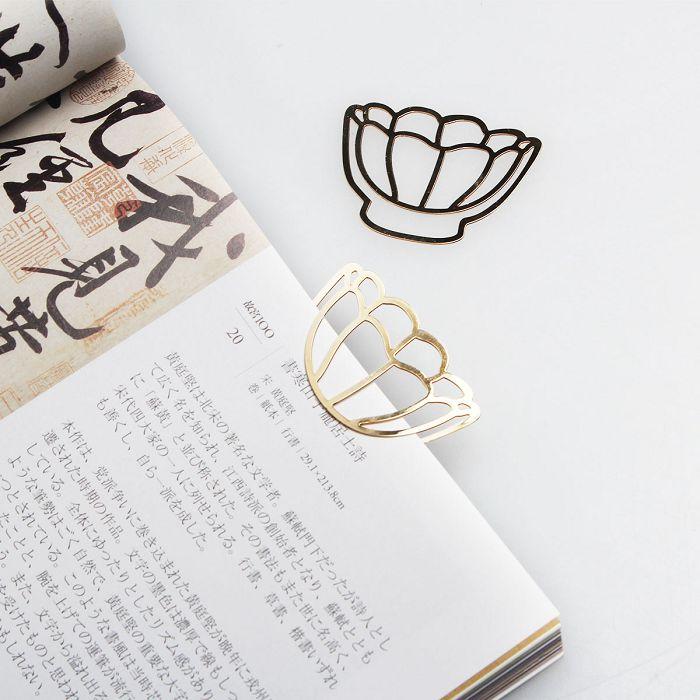 (複製)故宮精品 | 刺繡書籤-金文永寶(粉紅)