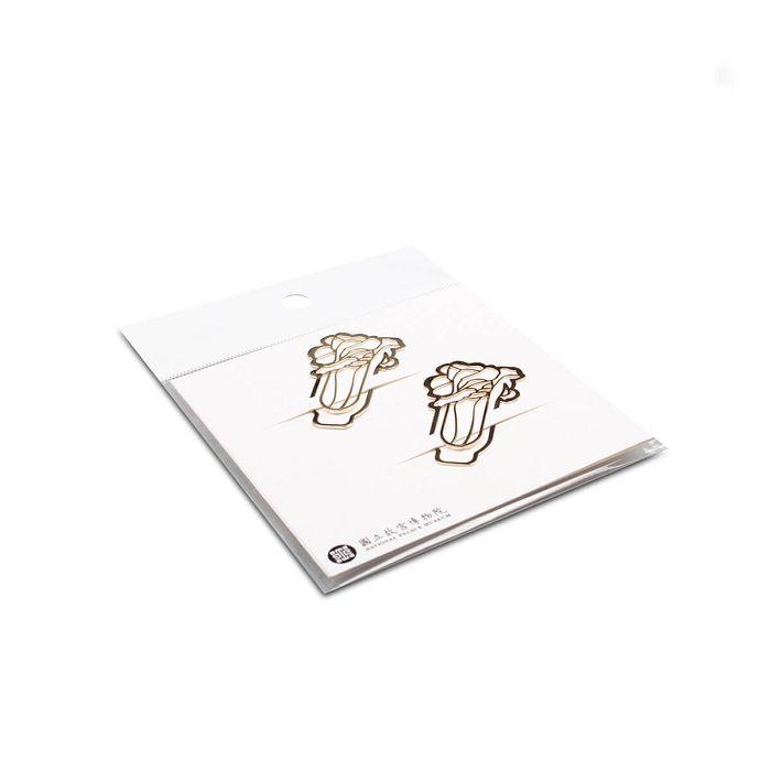 (複製)故宮精品 | 書籤夾-牡丹鼻煙壺