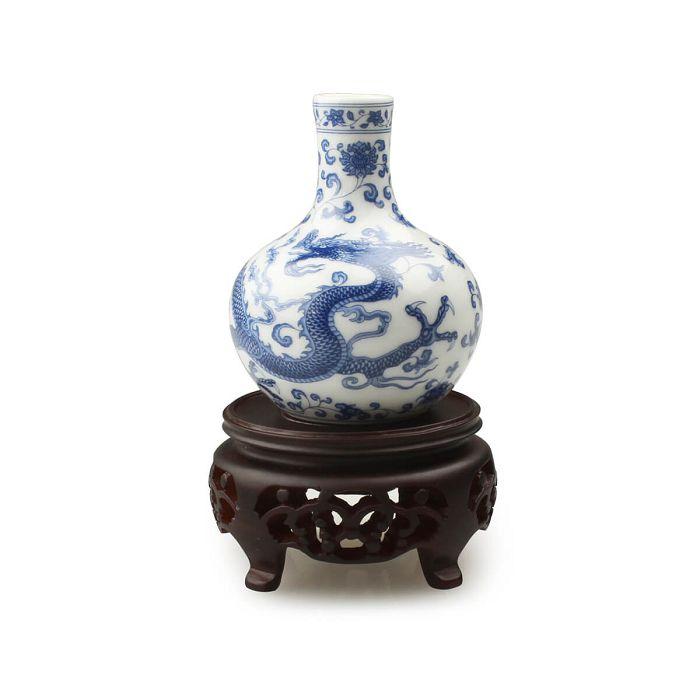 (複製)故宮精品 | 清黃地洋花方瓶