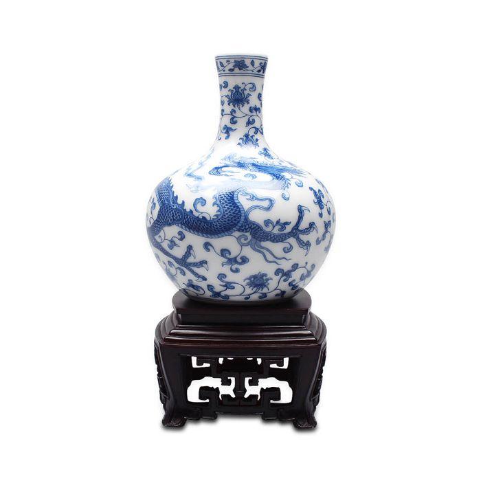 (複製)故宮精品 | 故宮迷你龍紋天球瓶