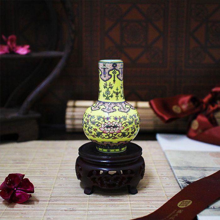 (複製)故宮精品 | 故宮百品花卉瓜稜瓶