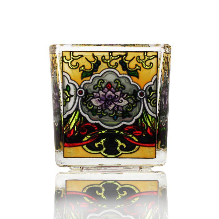 (複製)故宮精品 | 如意天華手繪玻璃燭台