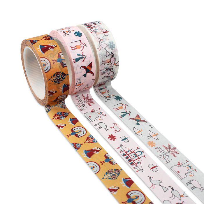(複製)故宮精品 | 寮國織品紙膠帶
