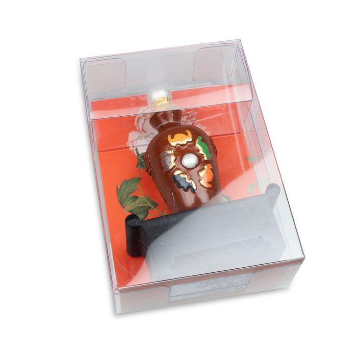 (複製)故宮精品 | 雙喜綠釉鼻煙壺磁鐵