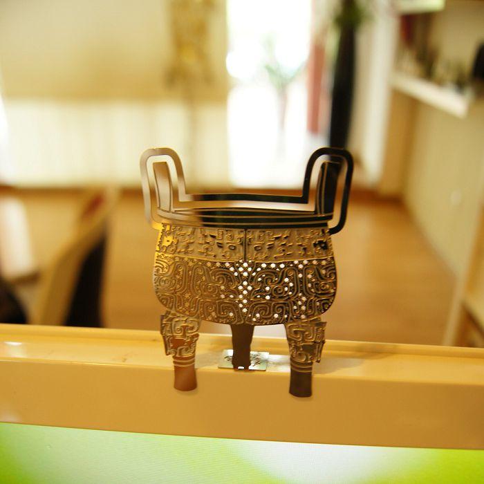 (複製)故宮精品 | 3D書籤掛飾 蓮花式溫碗