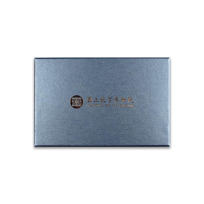 (複製)故宮精品   景泰藍茶花文鎮放大鏡 (薄水)