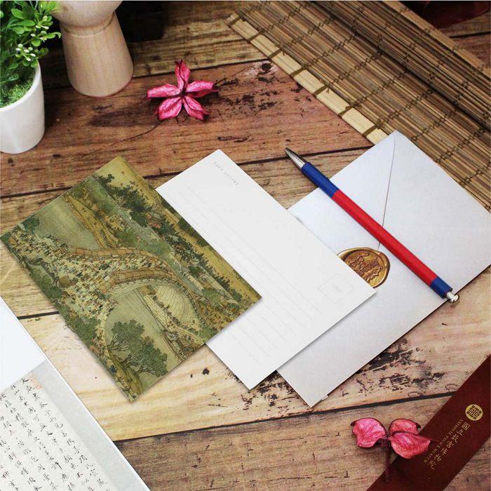 (複製)故宮精品 | 明信片-朱耷寫生魚