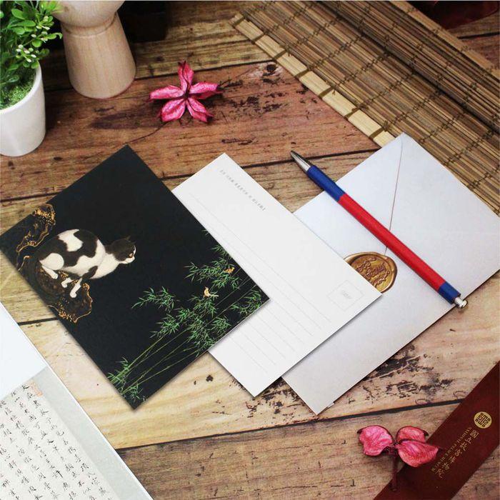 (複製)故宮精品 | 明信片-十二月月令圖 十二月