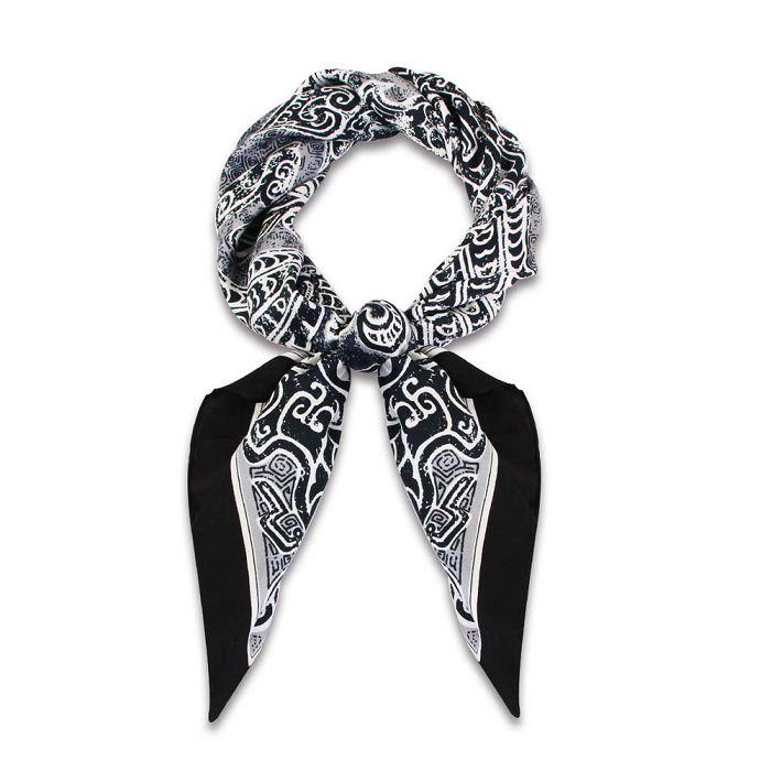 (複製)故宮精品 | 聚瑞圖攀花絲巾 (黑)