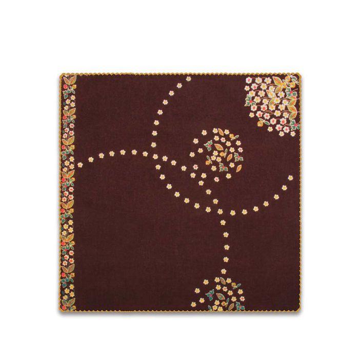 (複製)故宮精品 | 蟠龍紋盤絲巾 (黑)