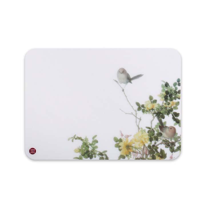 故宮精品 | 仙萼長春冊卡套-櫻桃桑鳲