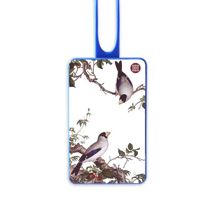 (複製)故宮精品 | 仙萼長春冊卡套-黃刺蘼魚兒牡丹