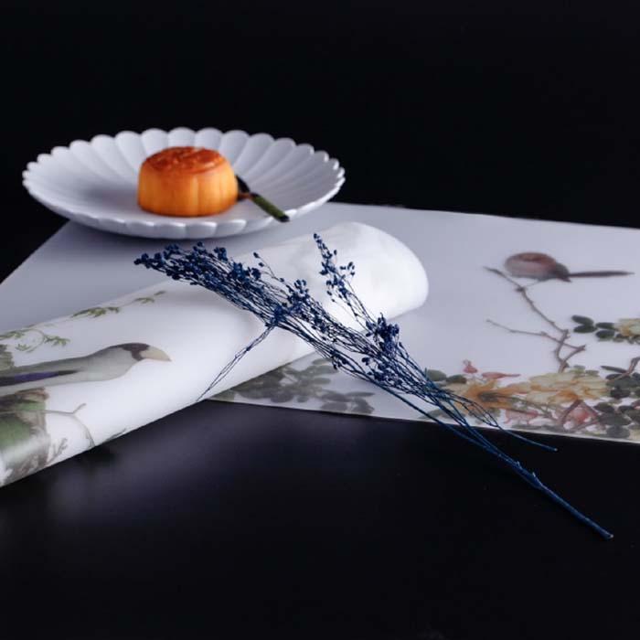 (複製)故宮精品 | 仙萼長春冊餐墊-櫻桃桑鳲