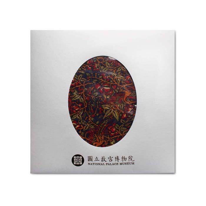 (複製)故宮精品 | 龍鳳呈祥絲巾 (綠)