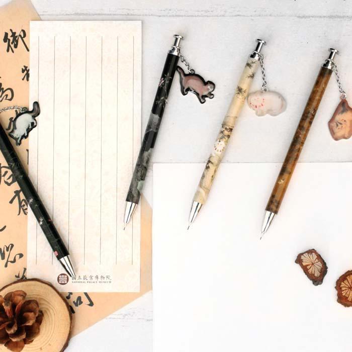 (複製)(複製)故宮精品   畫貓竹自動鉛筆