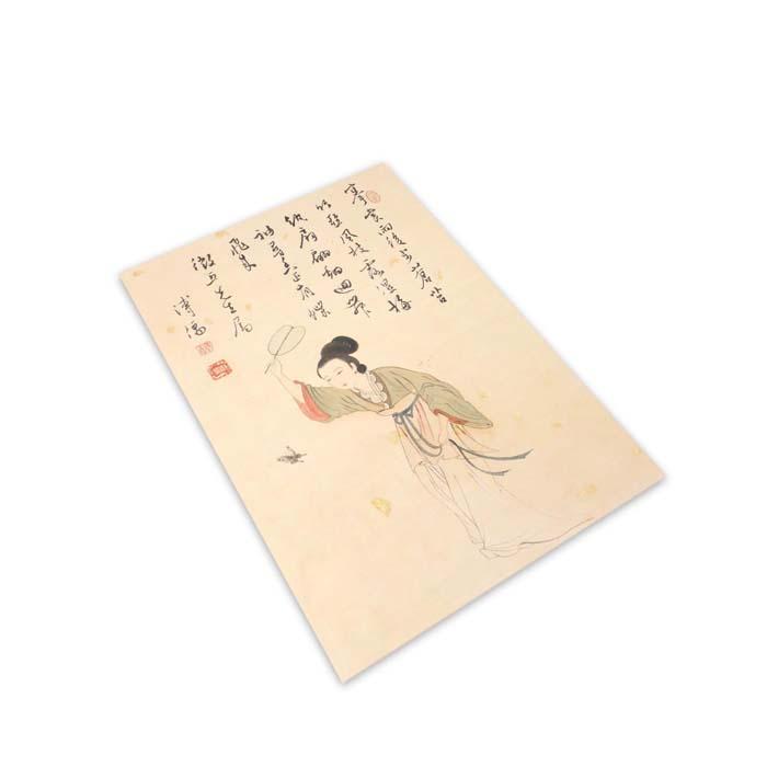 (複製)故宮精品 | 清錢慧安福祿壽軸明信片