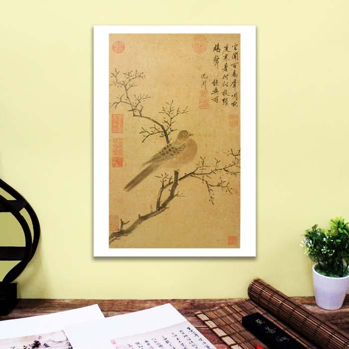 (複製)故宮精品 | 圖卡-清蔣廷錫畫花鳥冊牡丹