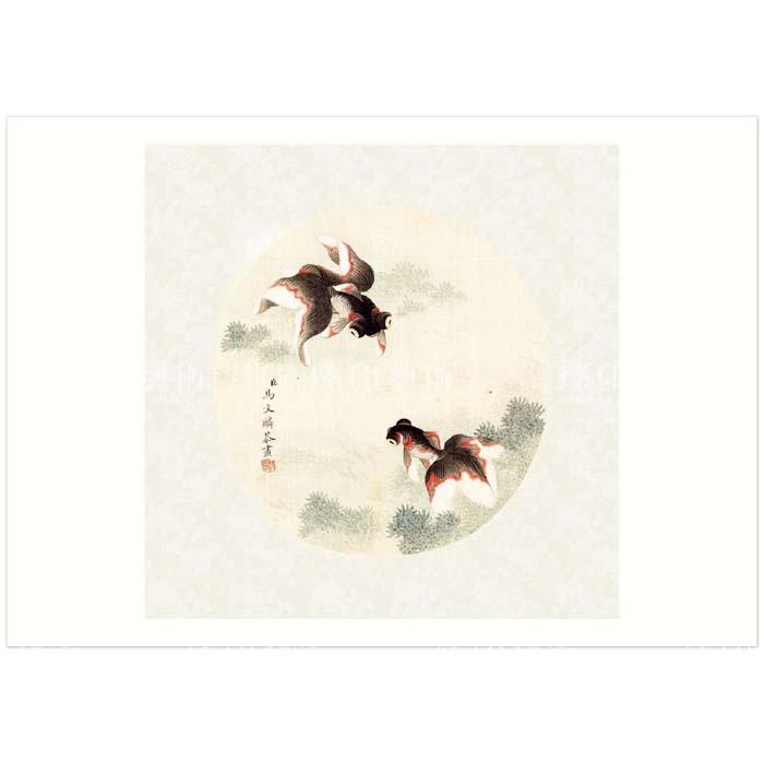 (複製)故宮精品 | B4小畫片-宋徽宗 蠟梅山禽