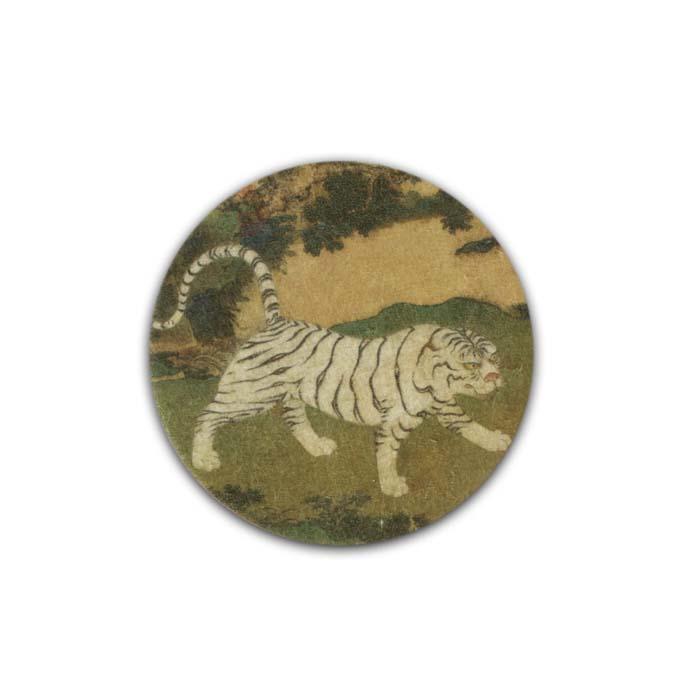 (複製)故宮精品 | 藝術杯墊-環尾狐