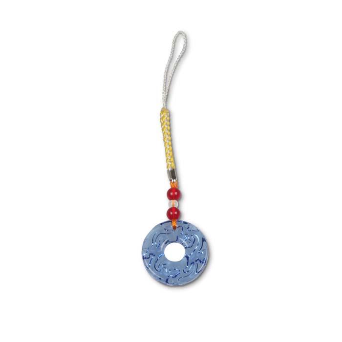 (複製)故宮精品   螭紋璧(琥珀)吊飾
