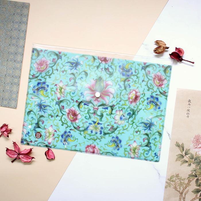 故宮精品 花團錦簇資料袋