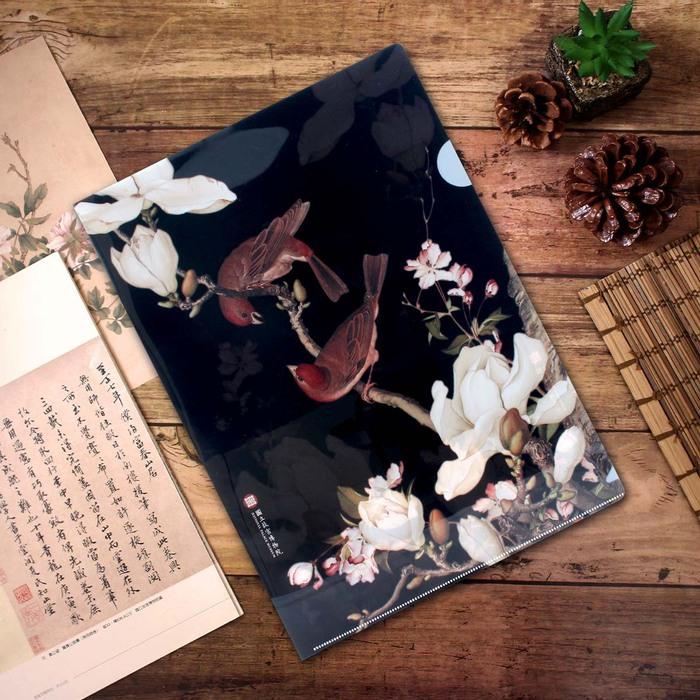 故宮精品 | 資料夾-海棠玉蘭
