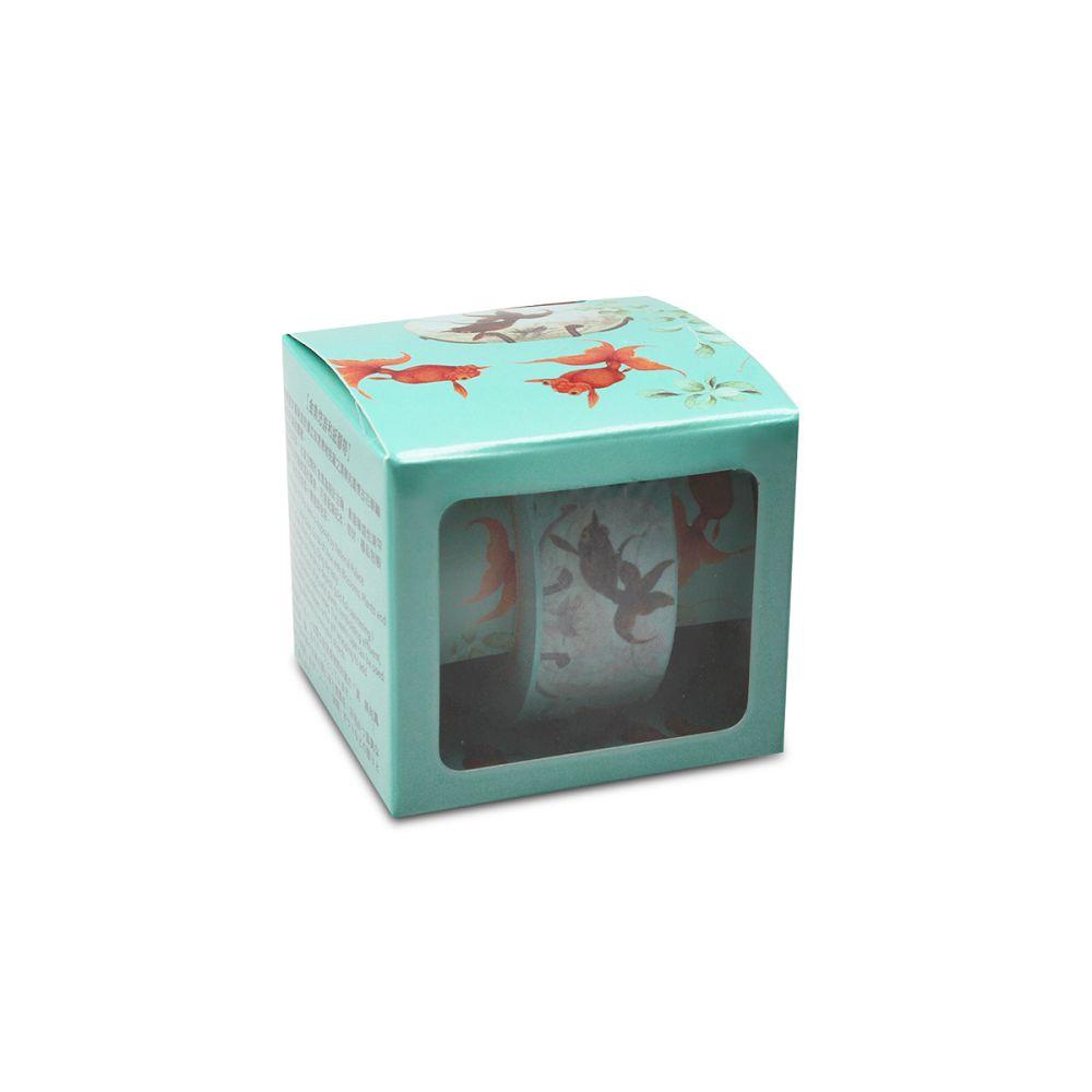 故宮精品|金魚悠游和紙膠帶