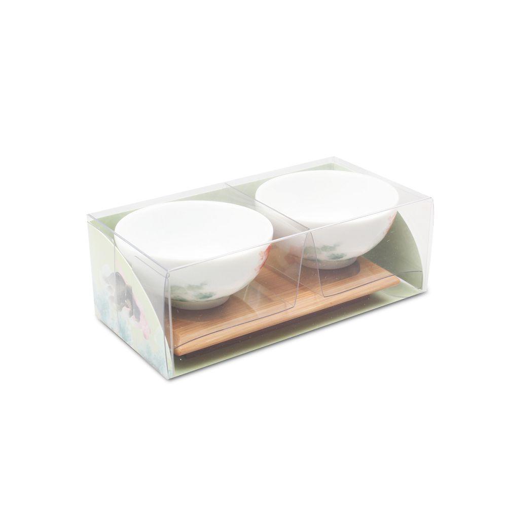 故宮精品|故宮金魚竹盤雙杯