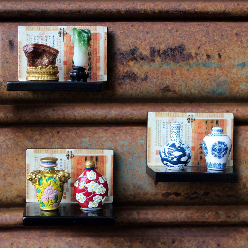 故宮精品|天球瓶菊花蓋罐小櫥窗