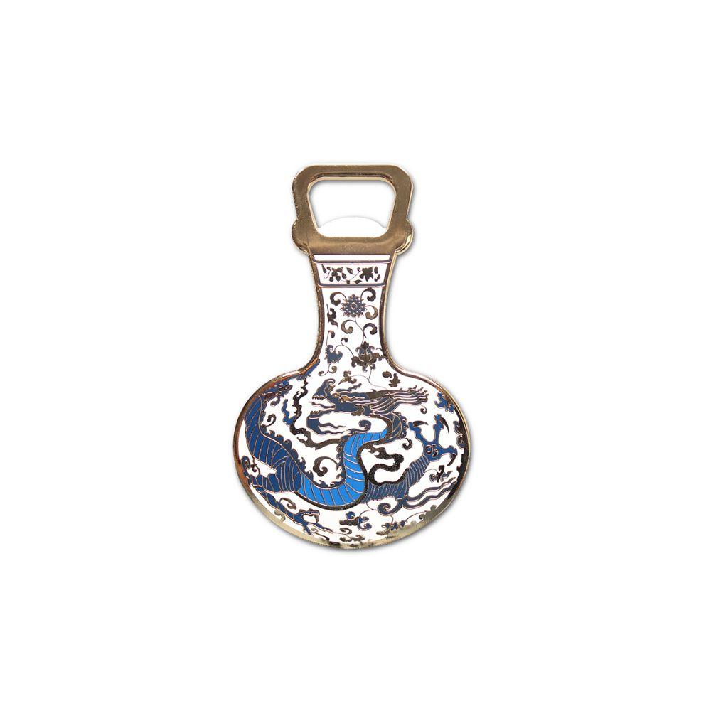 故宮精品|天球瓶彩金開瓶器
