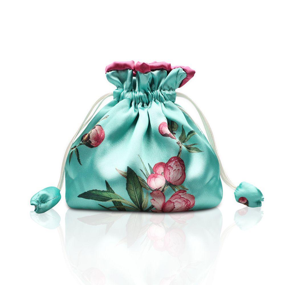 故宮精品|桃花如意袋