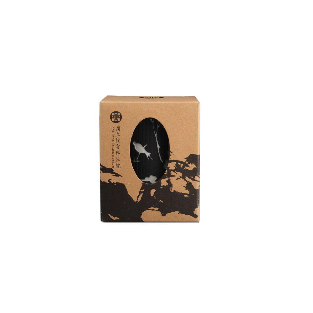 故宮精品|柳燕雙色竹韻杯