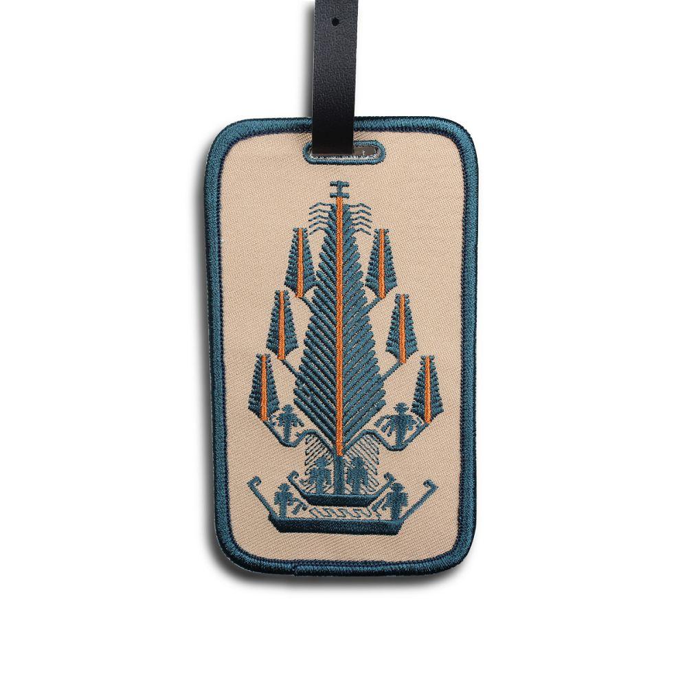 故宮精品 刺繡吊牌(祭典船布)