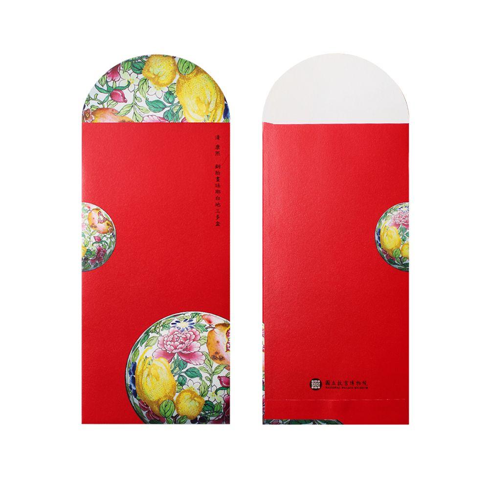 故宮精品 三多盒紅包袋 (5入)